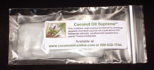 Coconut Oil Supreme sample pack