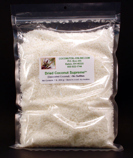 Dried Coconut Supreme™ - 1 lb.